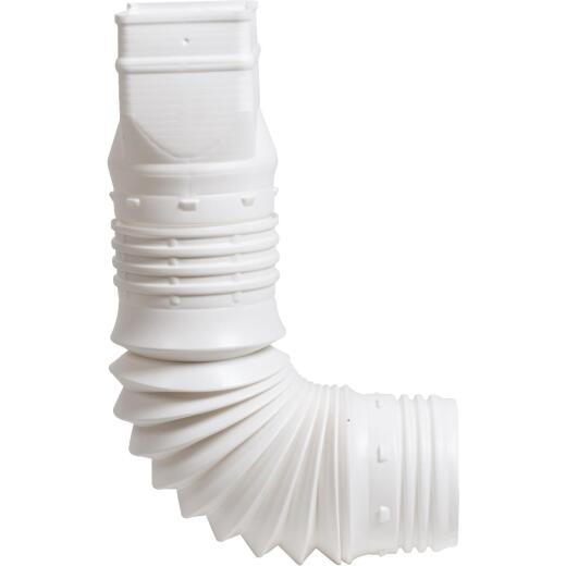 Amerimax Flex-A-Spout 2 In. X 3 In. X 3 In. Or 4 In. Downspout Adapter