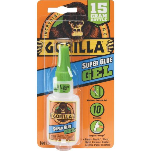 Gorilla 0.53 Oz. Super Glue Gel
