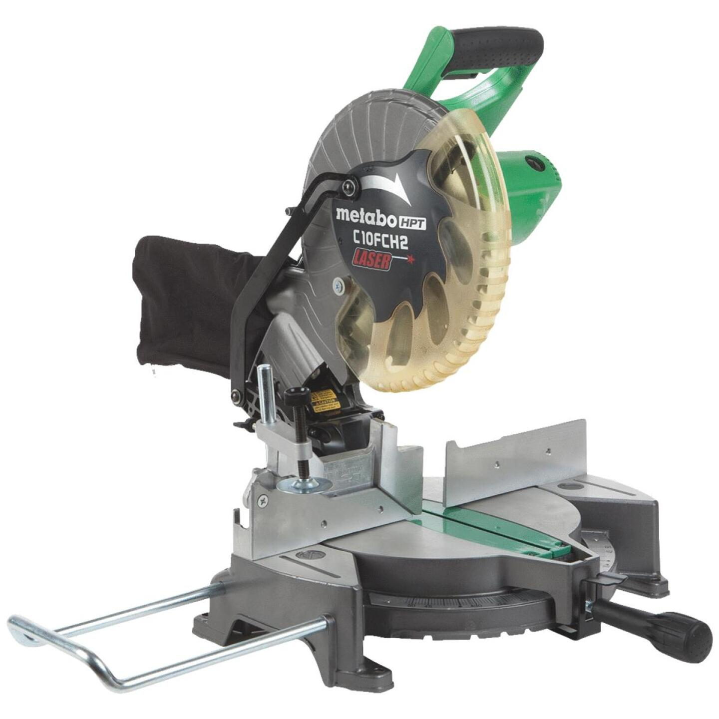 Metabo 10 In. 15-Amp Compound Miter Saw with Laser Image 1