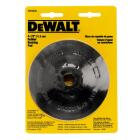 DeWalt 4-1/2 In. Power Angle Grinder Rubber Backing Pad Image 2