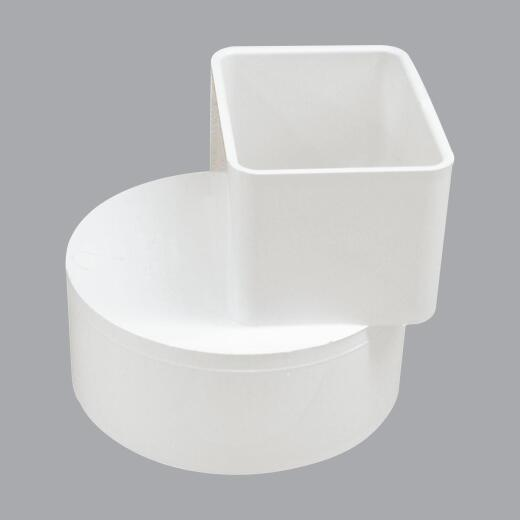IPEX Canplas 2 In. x 3 In. x 4 In. Offset Downspout Adapter