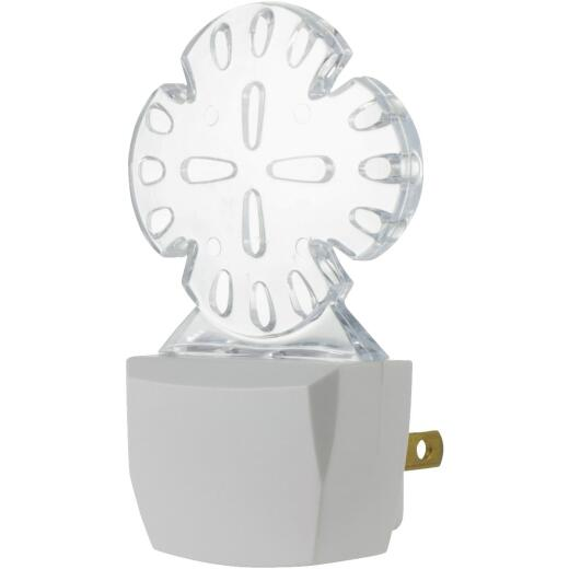 GE Green LED Sand Dollar Night Light