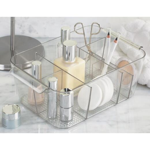 InterDesign Clarity Divided Cosmetic Storage Tray