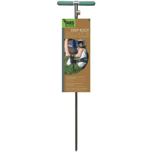 "Yard Butler 10"" W x 37"" H x 1"" D Steel Tree/Shrub Watering Tool"
