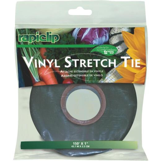 Rapiclip 1 In. W. x 150 Ft. L. Heavy-Duty Vinyl Stretch Tie