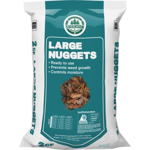 NuLife 2 Cu. Ft. Large Bark Nuggets