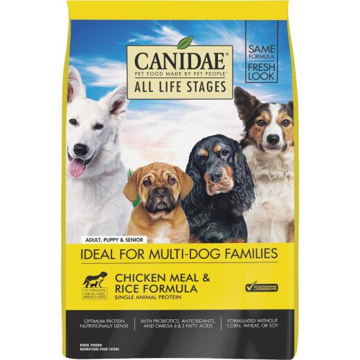 Canidae All Life Stages 15 Lb. Chicken & Rice Dry Dog Food