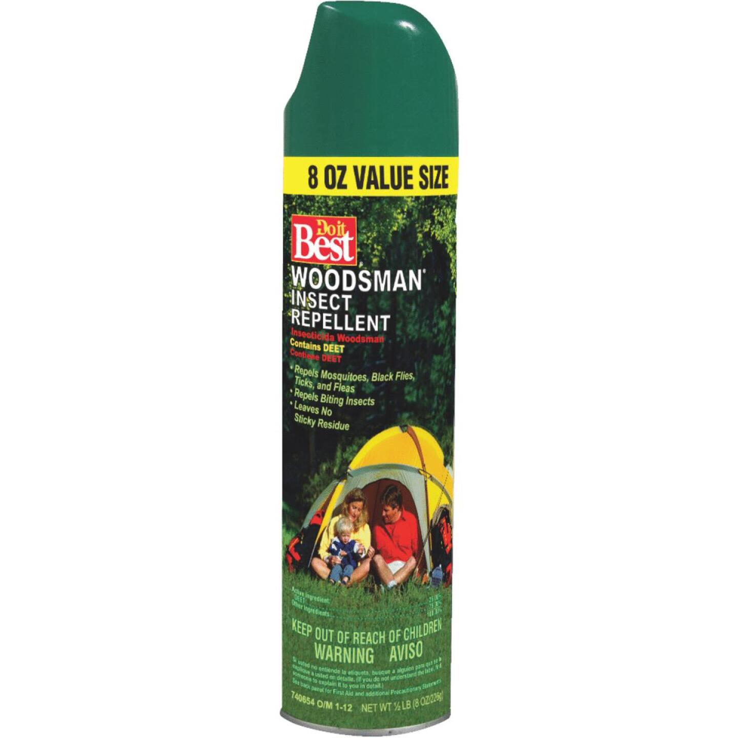 Do it Best Woodsman 8 Oz. Insect Repellent Aerosol Spray Image 1