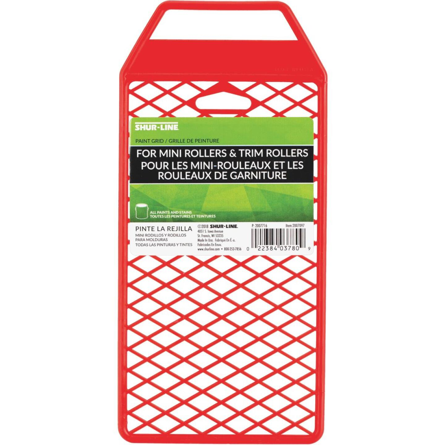 Shur-Line QuickPRO Gallon Poly Paint Roller Grid Image 1