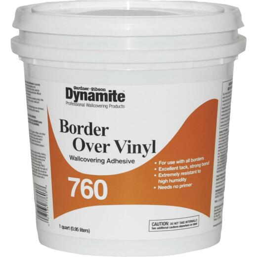 Dynamite 760 1 Qt. Vinyl Over Vinyl Wallcovering Adhesive